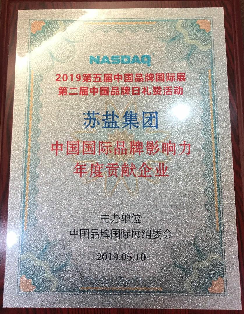 中国国际品牌影响力100强