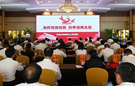 乐天堂手机版客户端集团党委召开纪念中国共产党成立99周年暨加强党的建设工作交流表彰大会